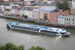 Cruise boat, Passau