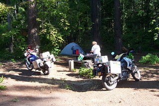 At the Moss Creek Campground in Washington state, USA