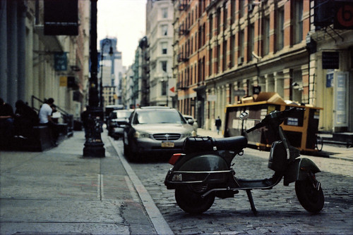 Vespa in SoHo by Vespazian