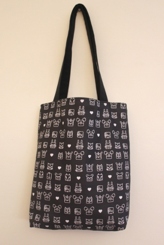 Tote bag - using bimba fabric