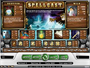 free Spellcast slot payout