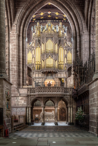 The Cathedral Organ Screen 2012 by Mark Carline