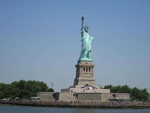 Estatua de Libertad, Liberty Island. NYC, Nueva York