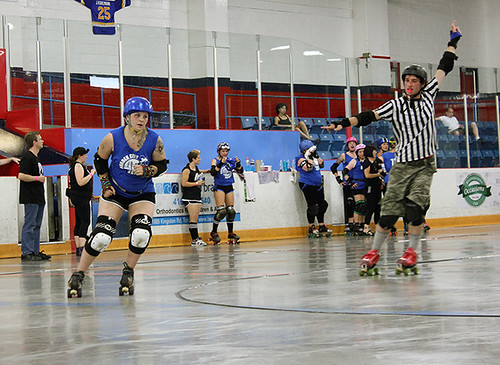 border city brawlers vs lindsay roller derby