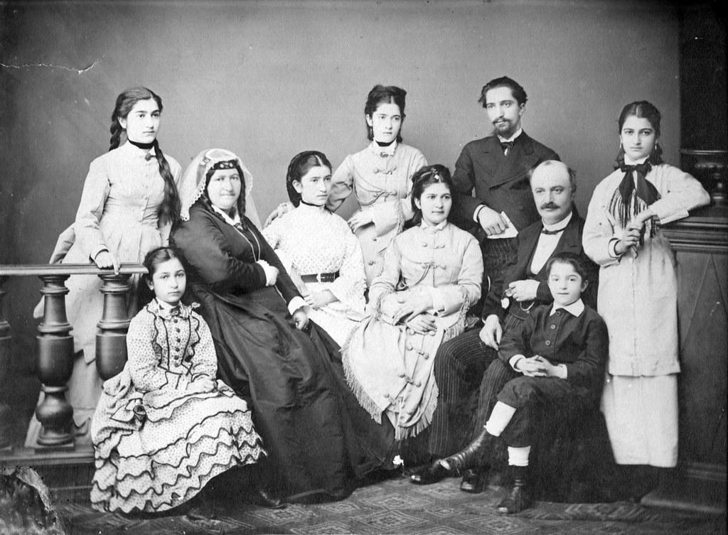 Фото 3 Семейное фото 1876 г