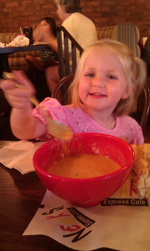 a big fan of the lobster bisque by sweet mondays