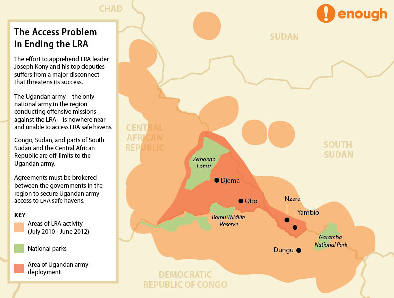 LRA Access Map