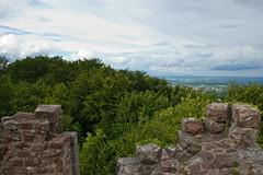 Vue depuis le Château du Petit Geroldseck