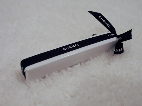 Prettily wrapped Chanel mascara