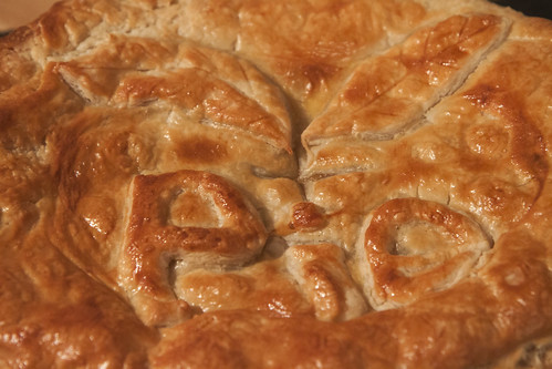 Traditional Steak & Ale Pie - The pie crust