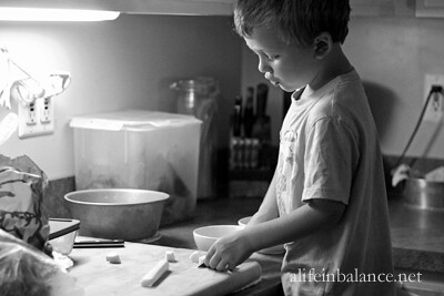 Cooking with Kids: Tomatoes with Mozzarella and Basil Salad