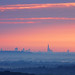 London Skyline from Hogs Back, Guildford by craig.denford