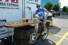 Me on the Keg Bike