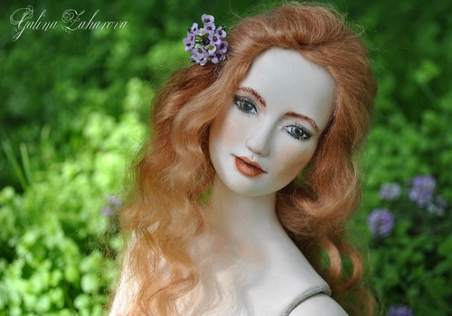My bjd porcelain doll Maria. Моя авторская шарнирная фарфоровая кукла