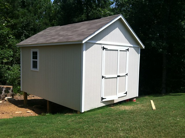 finished shed