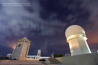 Sandiao Cape Lighthouse at Night │ July 22, 2012