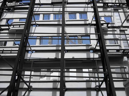 Sostenimiento de fachada