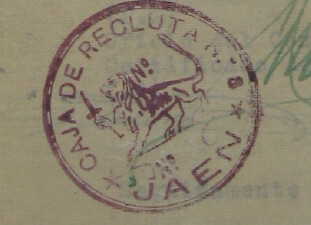 Caja de Recluta nº 8 de Jaén