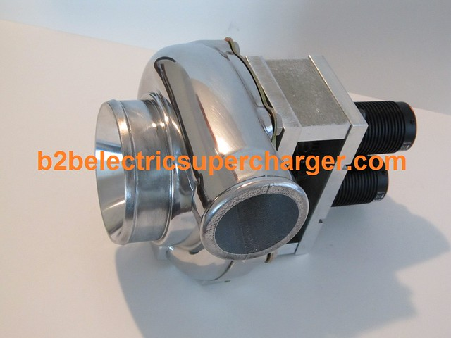 B2b electric supercharger