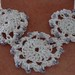 Crochet Handmade Motif Necklace