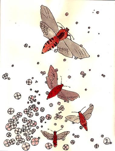 Aufwachende Nachtfalter / moth awake by Inky's Journal