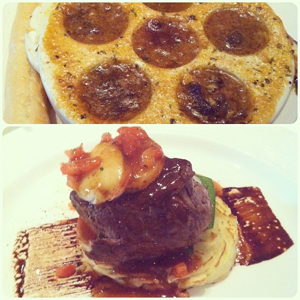 The French-themed dinner on night #3 was my favorite!! Escargot and uh-MAZING steak. A luxury! #disneydream