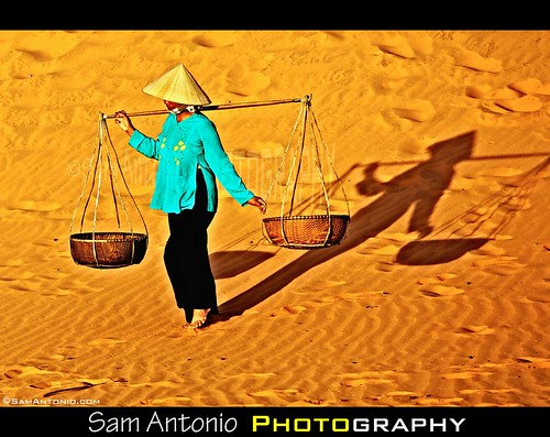 The Shadows of Mui Ne, Vietnam by Sam Antonio Photography