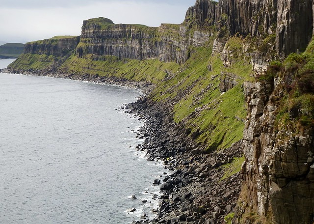 Cliff Face Geology, Isle of Skye
