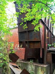 Dorrance Colliery Fan House Complex