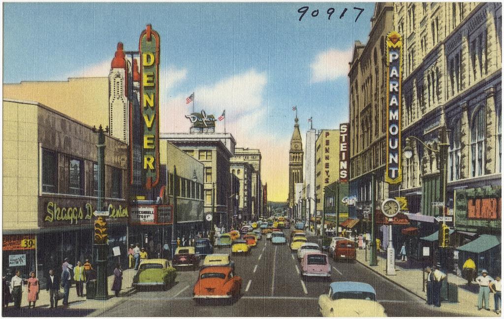 Street Mall Denver Movie Theatre