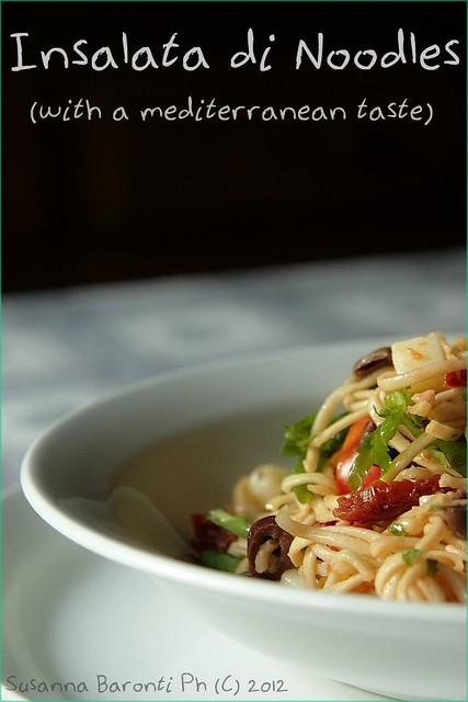 insalata di noodles