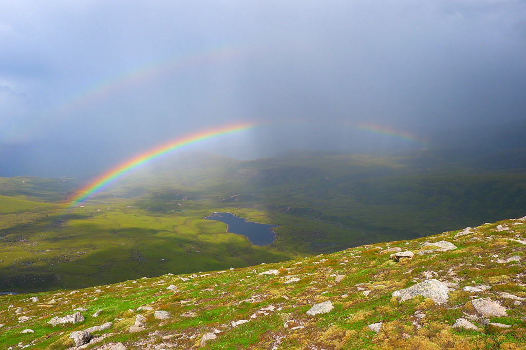 Rainbow over Glen Einaich