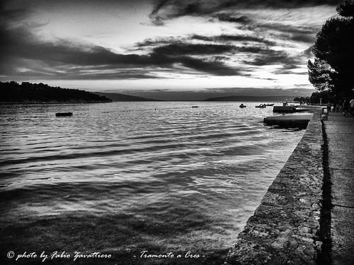 sea sky bw landscape nikon coolpix croazia p7000