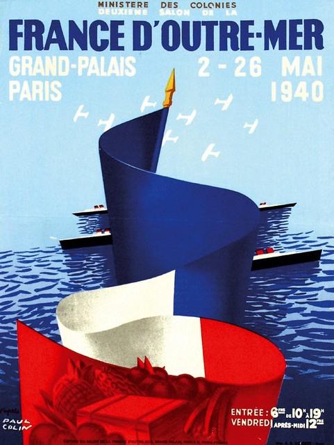 Paul Colin. Overseas France. 1940