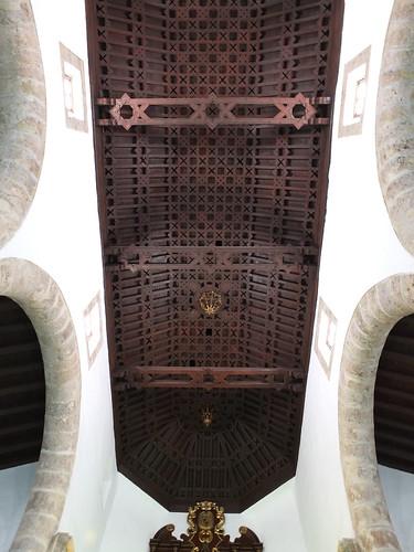 Iglesia de San Ginés - Artesonado