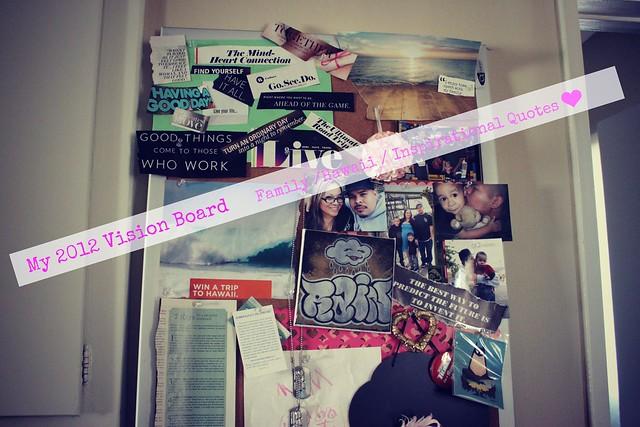 My 2012 Vision Board