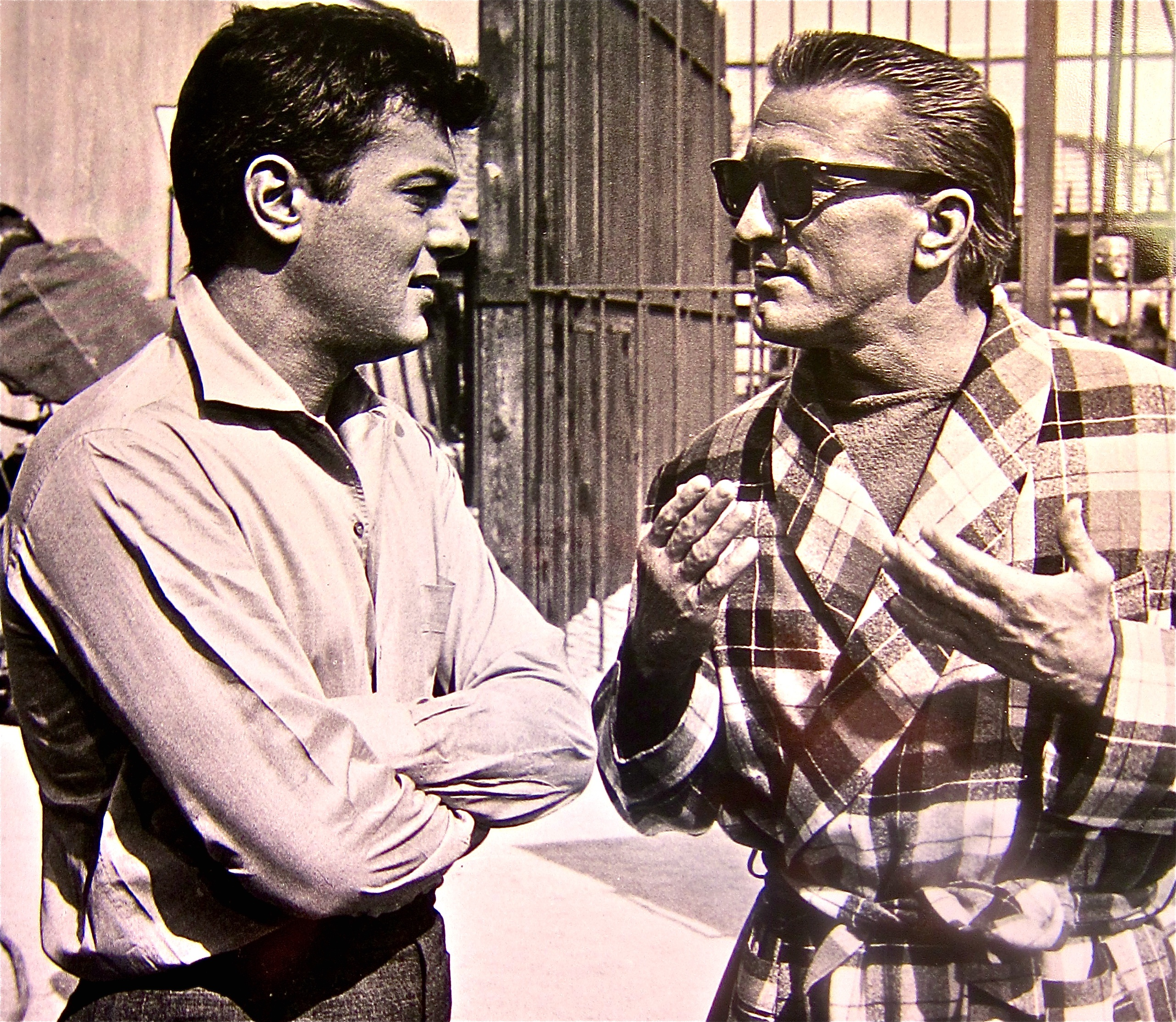 tony curtis and kirk douglas