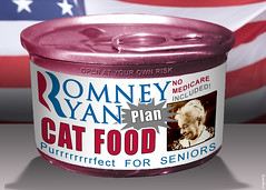 Romney Ryan Plan Cat Food