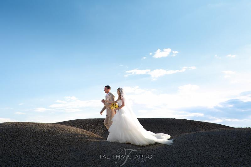 New Mexico Badlands - A Bridal Shoot