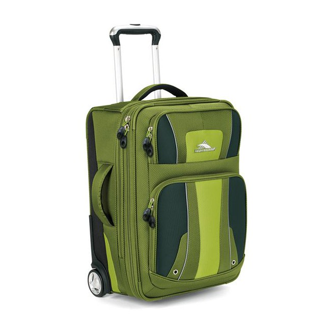 "High Sierra 22"" Rolling Carry-On Suitcase"
