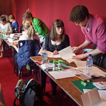 The lost art of correspondence | Busy participants create some stunning books in The Lost Art of Correspondence workshop