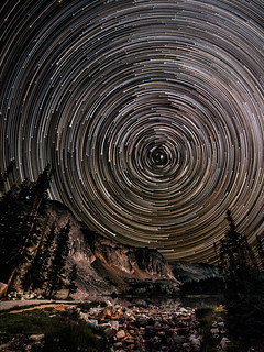Snowy Range Star Trails