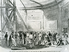 Troops in Rotunda 1861