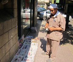 Finding a newspaper critical of Egypt's Islamist-led government has become harder. Credit: Cam McGrath/IPS.
