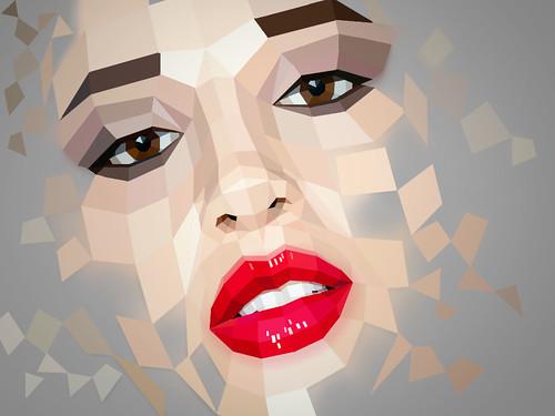 [フリー画像素材] グラフィック, イラスト, グラフィック - 人物, ボディーパーツ - 顔 ID:201208300400