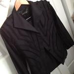 Alexander McQueen black skirt suit from tag sale in Woodbury