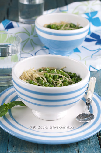 Soup with green pease