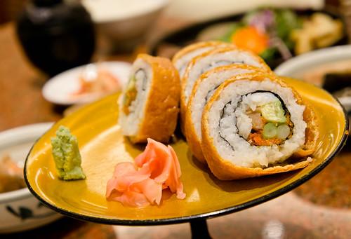 Japanese's vegetarian sushi
