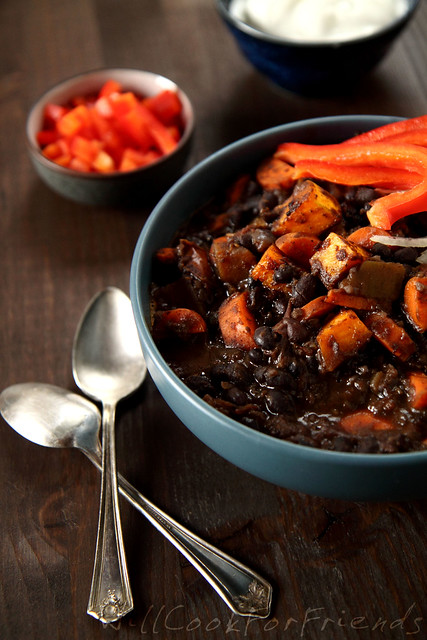 Black Bean & Butternut Squash Chili 2/2