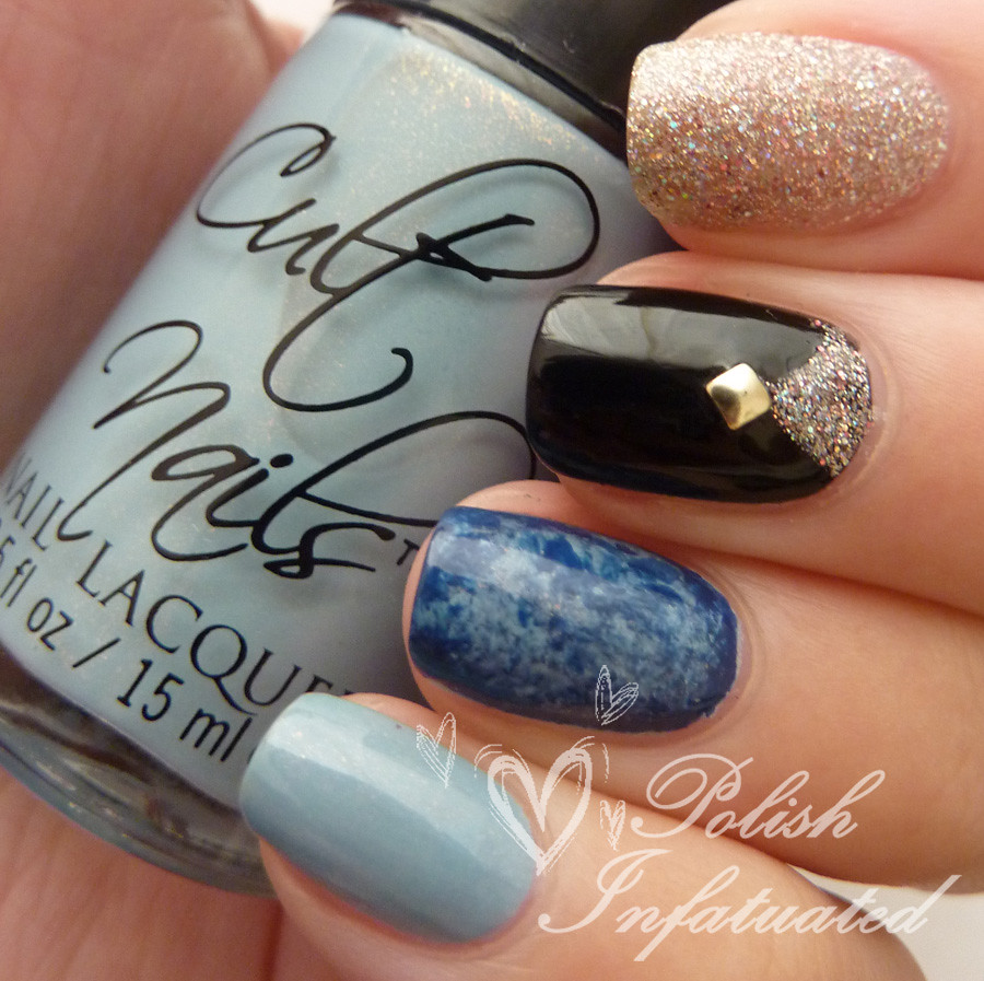 blue, glitter and black mish mash2